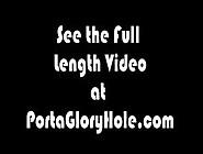 Porta Gloryhole Chubby Blonde Swallows Lots Of Cum
