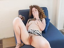 Busty Amateur Sonny Masturbating Her Hairy Snatch For Orgasm