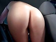 Nova Brooks Masturbates In A Car Wash