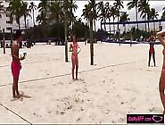 Hot Besties Twerking Asses By The Beach