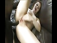 Busting Her Ass With A Big Black Cock