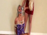 Lisa Harlotte Ties Up Sandra Silvers