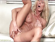 Fit Blonde Mature With Big Titties Fingers Box