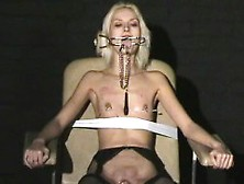 Extreme Needle Torture And Hardcore Bdsm Of Blonde Slavegirl