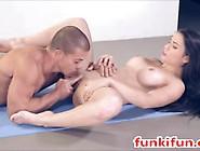 Big Tits Tight Ass Teen Russian Model Gets Hardcore Ass Fuck And