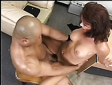 Naughty Boss With Big Boobs Vanessa Videl Can't Resist A Black C