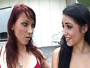 Big Boobed Milf Teaches A Lesbian Teen!
