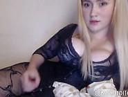 Hot Blonde Slut Jerk-Off Instructions
