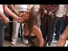 Messy French-Bukkake Doggy Gbang