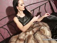 Fetish Liza - Fur And Leather Wank