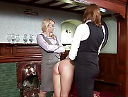 Spank And Paddle The Maid