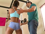 Beautiful Staci Ellis Screws Her Fitness Instructor Inside The S
