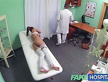 Naive Babe Is Getting Fucked By A Fake Doctor,  Thinking That It