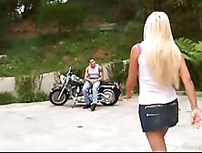 Carmel Moore Has A Kink On Handsome Bikers And Likes To Suck The