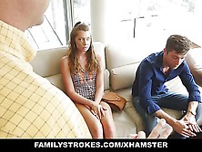Familystrokes - Grounded Hide & Fuck