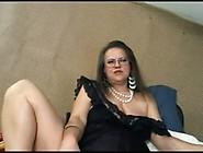 Granny Rubs Big Clit