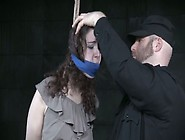 Tied Up Chick Is Punished By Kinky Master In Torture Room