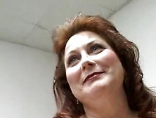 Chubby Mature Women Takes It In The Ass