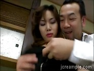 Japanese Housewife Gets Seduced By Perv