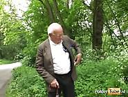 Opa Spuit Zijn Laatste Zaad In Een Jong Kutje #1