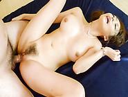 Akari Asagiri Has Both Her Holes Filled As Her Big Tits Swing An