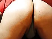 Bent Over Ass In Panties Getting Stuffed.