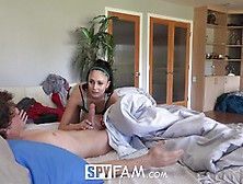 Hot Step Sister Ariana Marie Fucks Step Brother