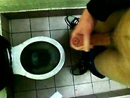 Cum In A Public Toilet