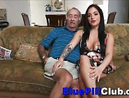 Big Boobs Latino Teen Slut Sucks Off Well Hung Old Grandad