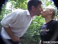 Cute Innocent German Teen Face Covered In Cum In Public