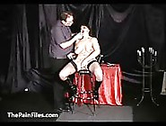 Face Punished Mature Slave
