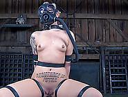 Tattooed Damsel In Miniskirt Masked When Tortured In Bdsm Shoot