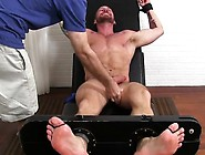 Tattooed And Naked Hugh Hunter Gets The Tickle Treatment