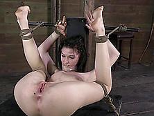 Charming Bondage Babe Pleasured With Vibrator In Bdsm Porn