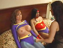 Superheroine Mind Control
