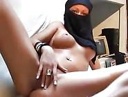 Horny Arab Slut Masturbates
