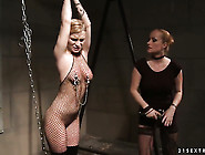 Blonde Katy Parker With Big Breasts Makes Her Lesbian Dreams A C