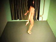 Homemade Roommates Striptease And Dance Hotly