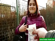 Public Pick Ups - Nude Czech Girls Get Paid For Public Sex Acts