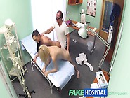 Fakehospital Doctor And Nurse Team Up And Pleasure Married Patie