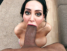 Amy Anderssen Tries Serious Inches Of Monster Dick In Perfect Po