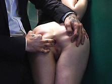Guy Fucked Good-Looking Female Samantha Bentley In Public Toilet