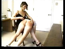 A Hard Spanking For The Girl