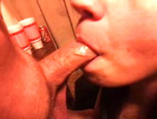 A Nice Deepthroat And Facial From My Wife.