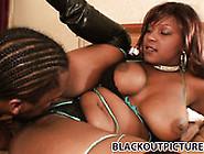 Black Spoiled Chick Vida Valentine Sucks Long Black Cock