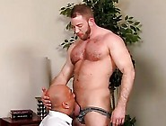 Hot Gay Sex After A Day At The Office,  Brian Is Need Of Some Dad