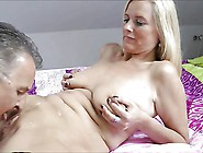 Hot Blonde Wife Cucking And Clean Up