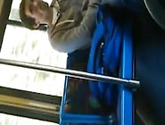 Hot Straight Guy Public Bus Exhibitionist With Cumshot