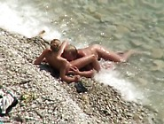 Horny Stud Satisfying Her Wife On The Beach