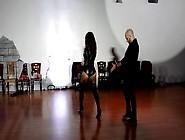 Sensual German Beauty Hits Her Dance Rhythms Hard
